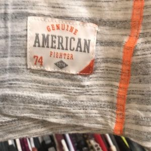American Fighter Tops - L American Fighter 3/4 Sleeve Shirt